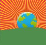 Earth rise Stock Photo