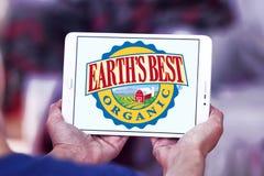 Earth`s Best baby food company logo Stock Photography