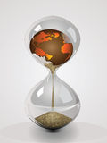 Earth's Hourglass Stock Photography