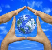 Earth safe and sound Royalty Free Stock Photo