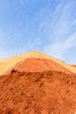 Earth Sand Colors Landscape Royalty Free Stock Image