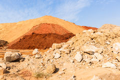 Earth Sand Colors Landscape Royalty Free Stock Photo
