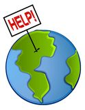 Earth Save The Planet Clip Art Royalty Free Stock Images