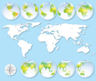 The Earth Royalty Free Stock Images