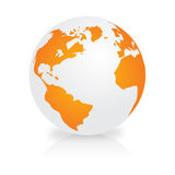 Earth Simbol Royalty Free Stock Photo