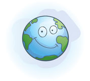 Earth Smiling Royalty Free Stock Image