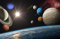 Earth and Solar system planets