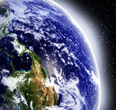 Earth in space Royalty Free Stock Images