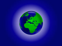 Earth from space Royalty Free Stock Photography