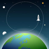 Earth Space Copyspace Stock Images