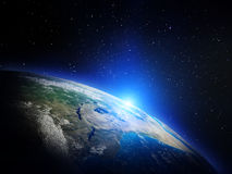 Earth from space Stock Images