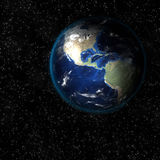 Earth from space. Royalty Free Stock Photo