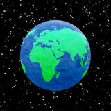 He earth in space Stock Images