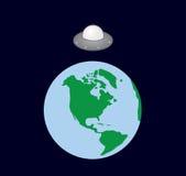 Earth Spaceship Stock Photos