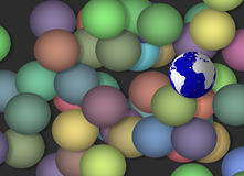 Earth Sphere Stock Photo