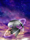 Earth Sphere Stock Photography
