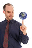 Earth Spin Stock Photography