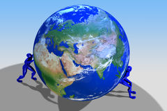 The Earth Stood Still Royalty Free Stock Photo