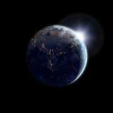 Earth and sun Stock Photos
