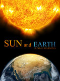 Earth and Sun, Global warming Royalty Free Stock Photography