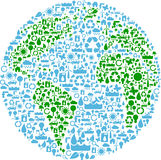 Earth symbol Royalty Free Stock Image