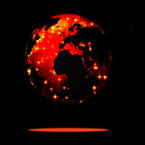 Earth symbol of the new year on our planet Stock Images