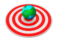 Earth Target Royalty Free Stock Images