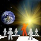 Earth teacher Stock Photography