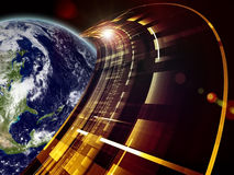 Earth Technologies Royalty Free Stock Photography