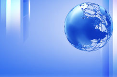 Earth technology  background Stock Photo