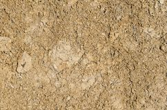 Earth texture background. Dry patch of brown earth texture background stock photos