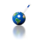 Earth Thermometer Royalty Free Stock Photo