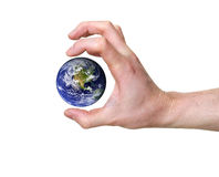 Earth threat Stock Photo