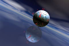 Earth Time Stock Photo