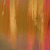 Earth tone painting. On canvas texture royalty free stock image
