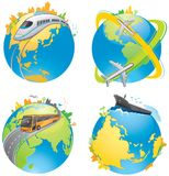 Earth transportation Stock Image