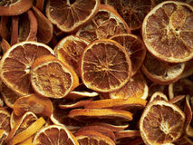 Earth treasures, dried orange slices Stock Image