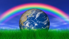 Earth Under a Rainbow