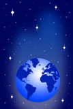 Earth universe Stock Image