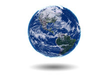 Earth USA Canda South America Royalty Free Stock Photography