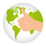 Earth vector Royalty Free Stock Image
