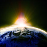 Earth view Royalty Free Stock Photo