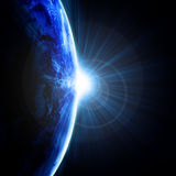 Earth view Stock Image