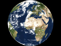 Earth view - Africa Stock Images