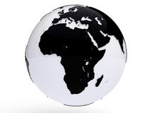 Earth View - Africa Royalty Free Stock Image