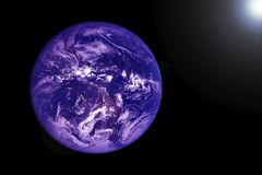 Earth view from space Elements of this image were furnished by NASA