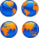 Earth visual Stock Image