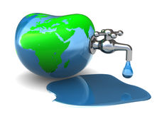 Earth water Stock Image