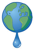 Earth water Royalty Free Stock Photography