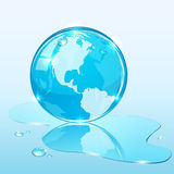 Earth and water Stock Images